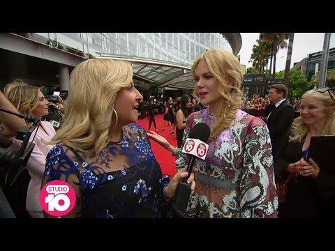 Nicole Kidman, Simon Baker & Tom Gleeson On The AACTA Awards Red Carpet | Studio 10
