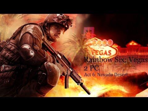 Tom Clancy's Rainbow Six: Vegas 2 PC - Act 6: Nevada Desert