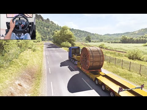 Scania S730 - Corsica | Euro Truck Simulator 2 | Logitech G29 Gameplay