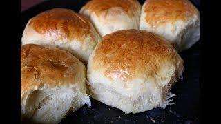 Cách Làm Bánh Mì Bơ Sữa Thành Công Ngay Lần Đầu - Butter Rolls Bread