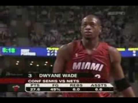 Dwyane Wade 25 pts, 5 ast vs. Pistons (2006 ECF) Game 1