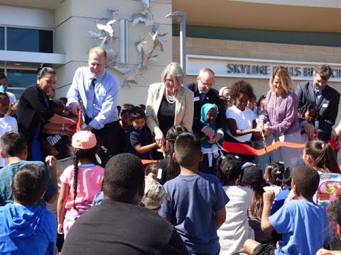 Skyline Hills Branch Library Grand Opening