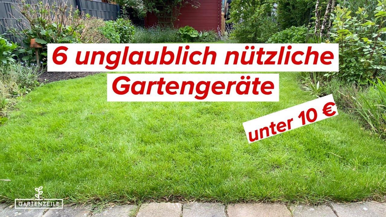 Download 6 unglaublich nützliche Gartengeräte unter 10 Euro | Garten & Balkon Grundausstattung