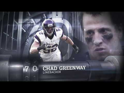 #70 Chad Greenway (LB, Vikings) | Top 100 Players of 2013 | NFL