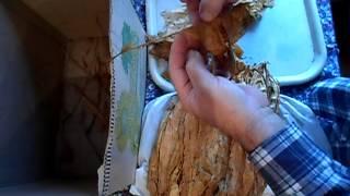 �������� ���� №26 Табак  Ферментация табака  Удаление центральной жилки ������