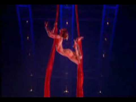 Cirque Du Soleil Quidam Aerial Contortion In Silk