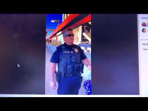 White BART Police Officer McCormick Detaines Black Steve Foster For Eating A Sandwich