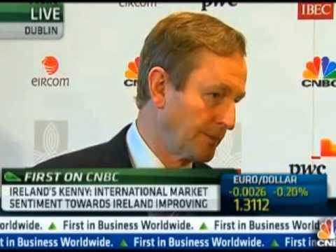 CNBC Interview with An Taoiseach, Enda Kenny