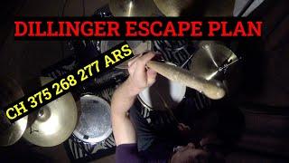 Dillinger Escape Plan - CH 375 268 277 ARS - DRUM COVER by Michael Malinowski
