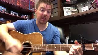 Don't Blink | Kenny Chesney | Beginner Guitar Lesson