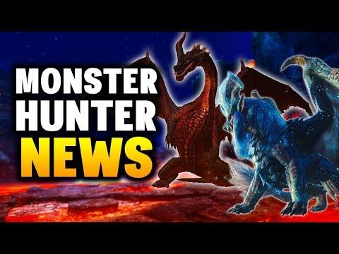 NEW EVENTS - Monster Hunter News // MONSTER HUNTER WORLD + MONSTER HUNTER GENERATIONS ULTIMATE