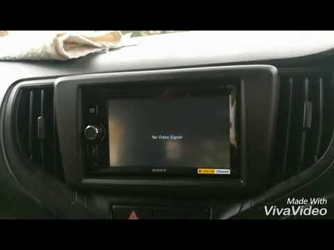 sony touch screen music system  for baleno car