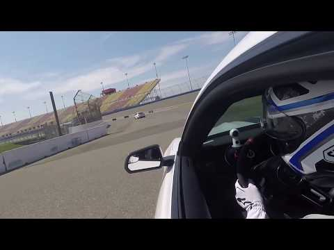 Shelby GT350 1st session Auto club Speedway