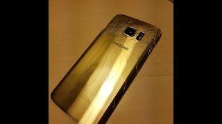 Como Reparar el CRISTAL TRASERO del Samsung Galaxy S7