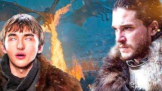 ¿Asi Sera el Final de Juego de Tronos?! Bran lo vio TODO!?-Teoria Game of Thrones