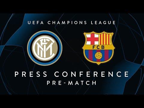 INTER vs BARCELONA | Pre-Match Press Conference LIVE | Keita, Borja Valero and Spalletti