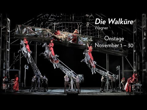 Wagner's DIE WALKÜRE at Lyric Opera of Chicago. Onstage Now through November 30