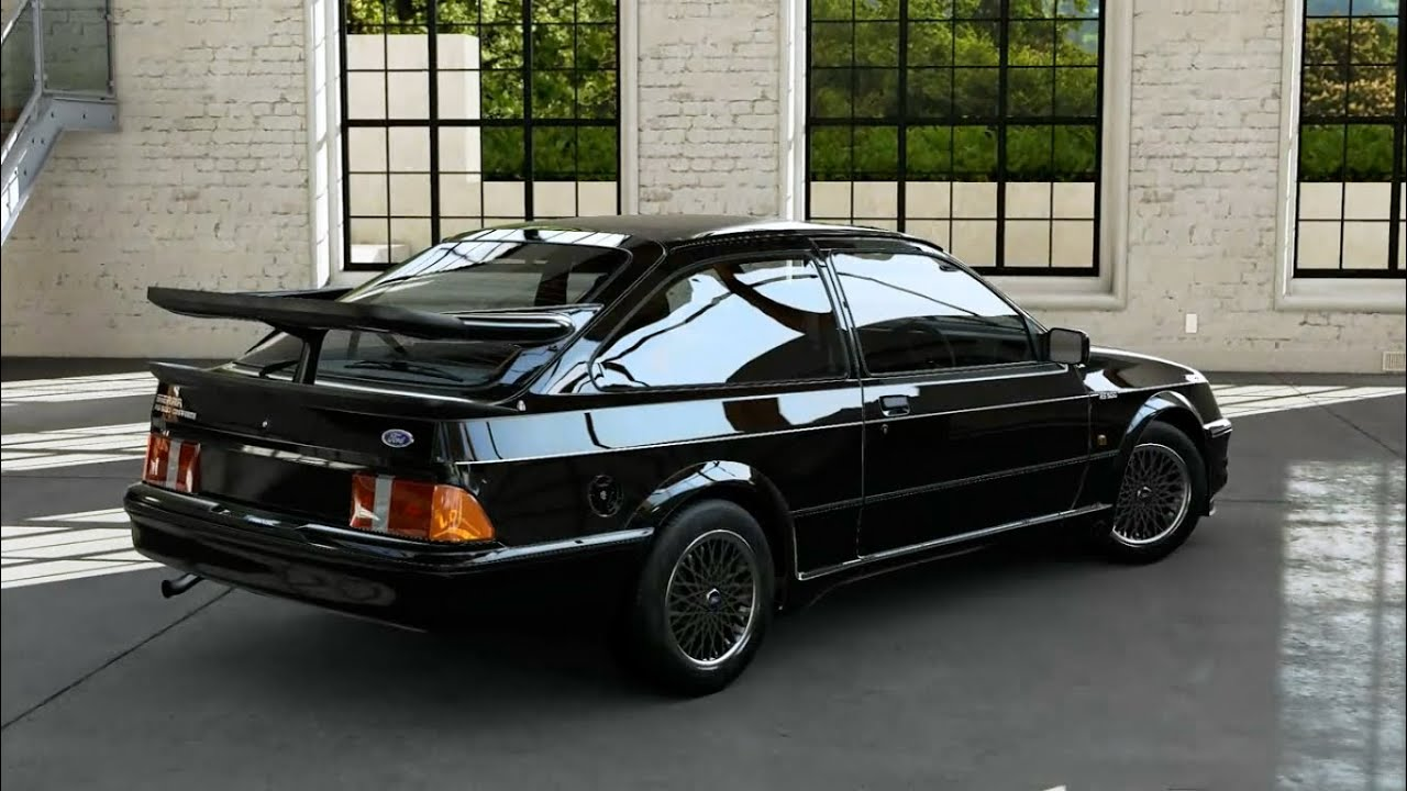 forza motorsport 5 1987 ford sierra cosworth rs500 youtube. Black Bedroom Furniture Sets. Home Design Ideas
