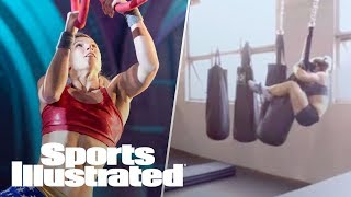 American Ninja Warrior Star Jessie Graff Obstacle Course Training | 360 Video | Sports Illustrated thumbnail