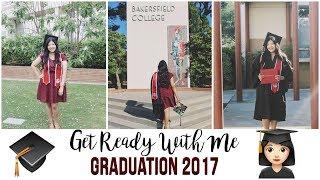 GRWM 4 COLLEGE GRADUATION 2017 | Claudia Elizabeth