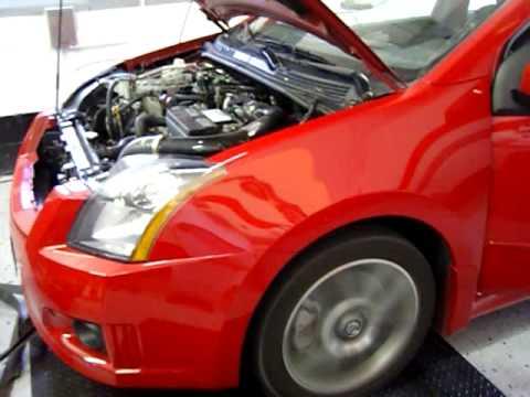 '07 Nissan Sentra SE-R Spec V Dyno - YouTube