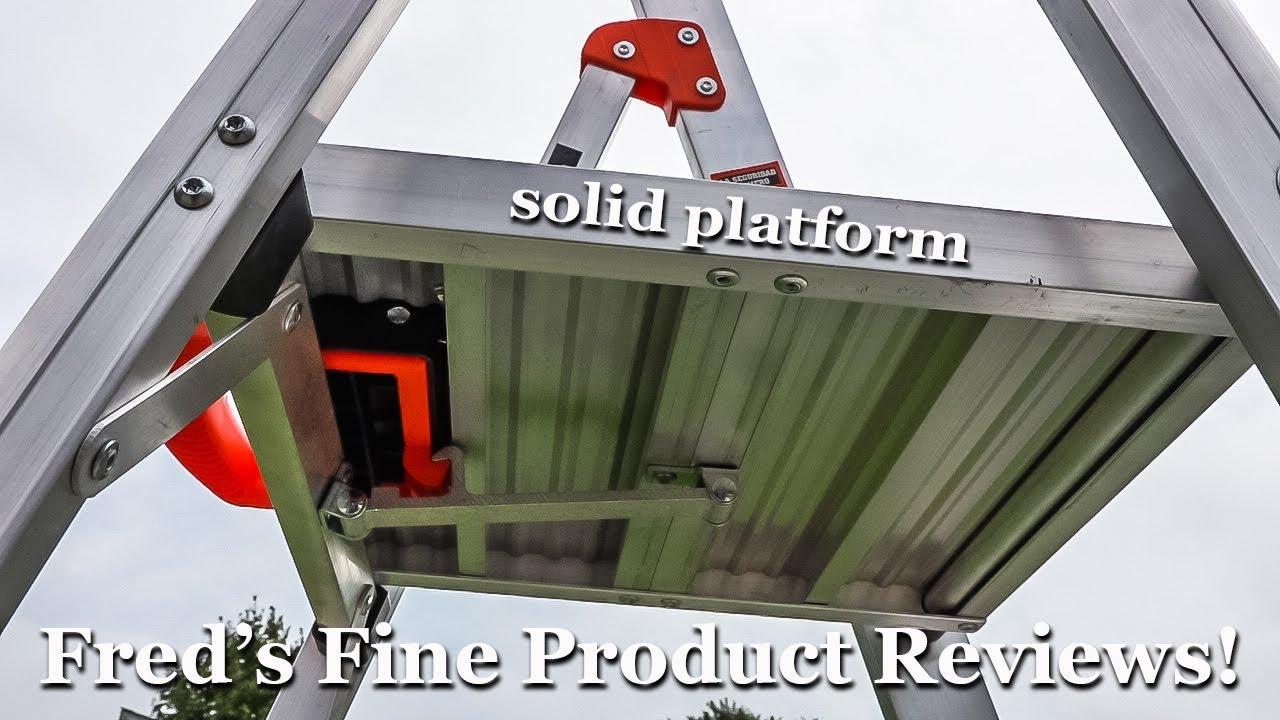 5-Foot Flip-N-Lite 300-Pound Duty Rating Platform Stepladder