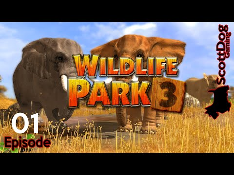 WILDLIFE PARK 3 Lets Play Ep 1 Germany ScottDogGaming