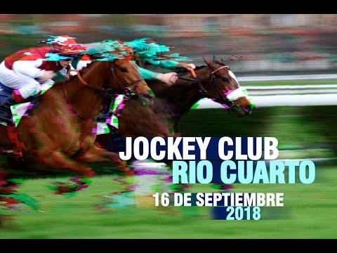 Transmisión - Reunion N°10 - Hipódromo Jockey Club Río Cuarto - 16 de septiembre de 2018
