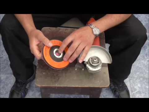 Disco casero para pulir madera con amoladora household - Disco madera amoladora ...