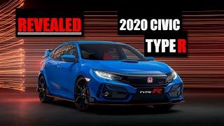 homepage tile video photo for 2020 Honda Civic Type R FK8 Revealed: Still the Hot Hatchback King? - Inside Lane