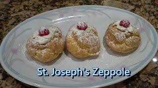 Italian Grandma Makes St. Joseph's Zeppole