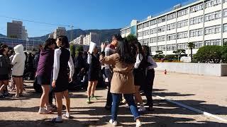 훕스팝TV 제7회재난방송, 부산중앙여고 재난안전체험교육…