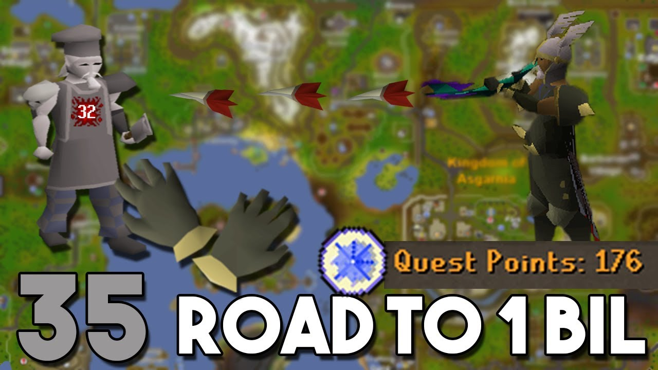 Unlocking the Best Pair of Gloves (Barrows Gloves!) - Road to 1 Bil From  Nothing - Ep 35[OSRS]