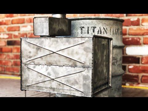 Russian Titanium Folding Stove