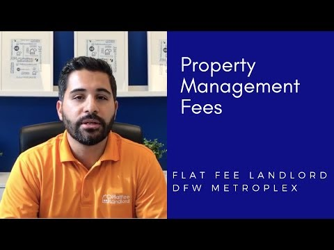 Dallas Property Management Fees