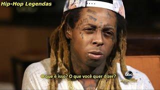 Lil Wayne em entrevista polêmica – Suas letras, Skate, prisão e