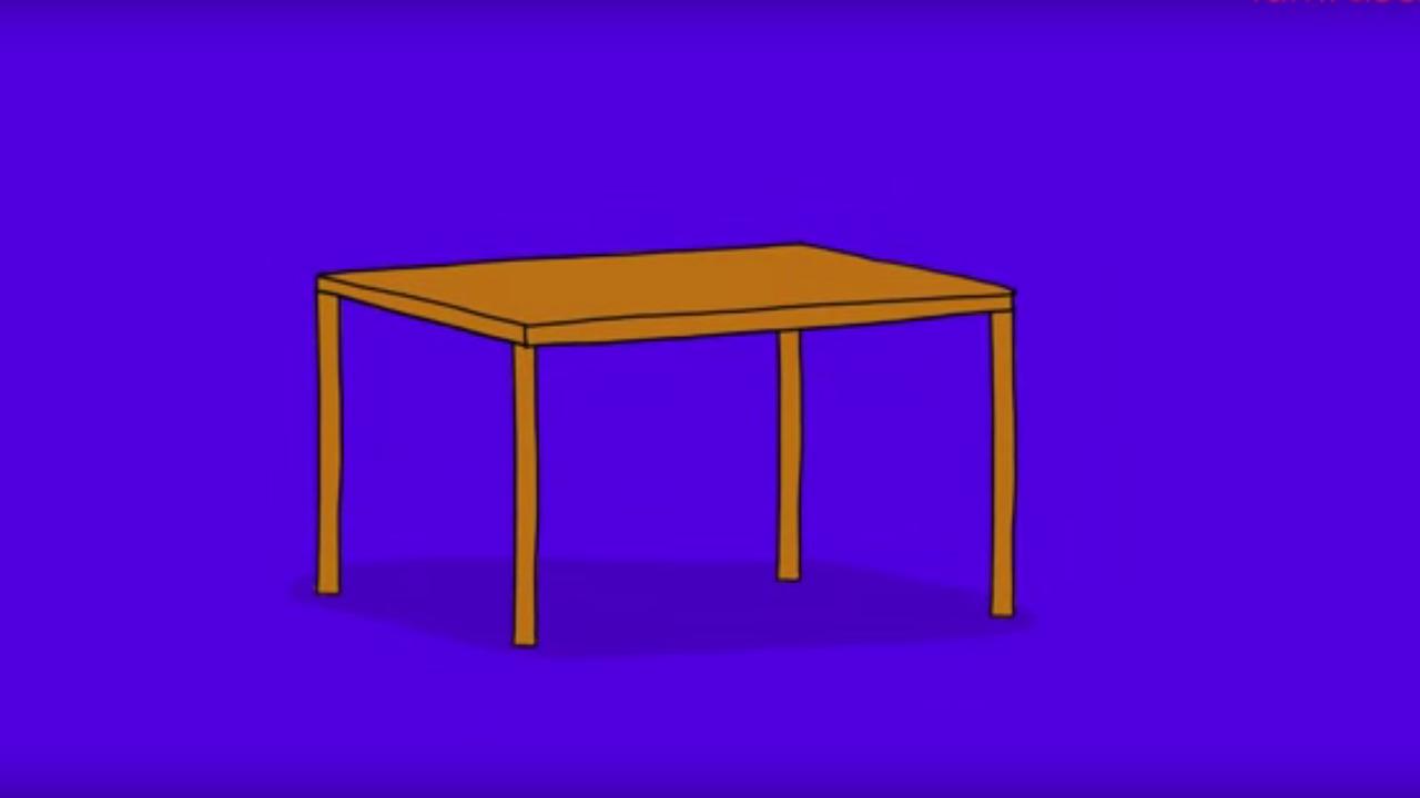 Dessin De Table De Jardin