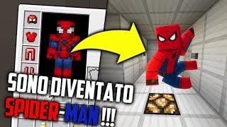 SONO DIVENTATO SPIDER-MAN !!! (MINECRAFT)