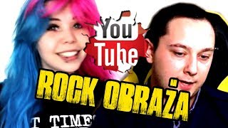 Rock obraża youtuberów 6...