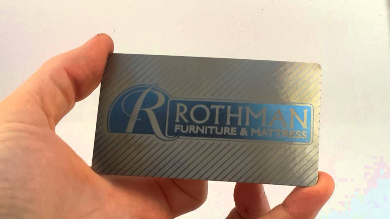 laser etched and anodized titanium business card youtube