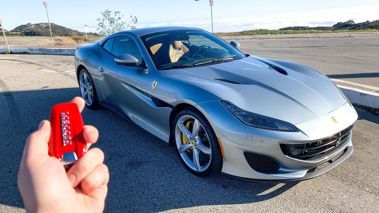 What It's Like To Drive A 2019 Ferrari Portofino (POV