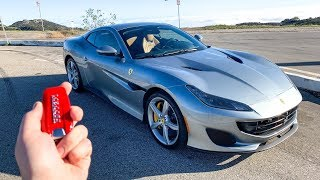 What It's Like To Drive A 2019 Ferrari Portofino (POV)