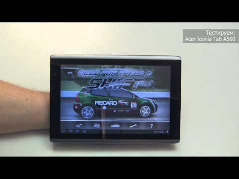 Обзор и тестирование Acer Iconia Tab A500