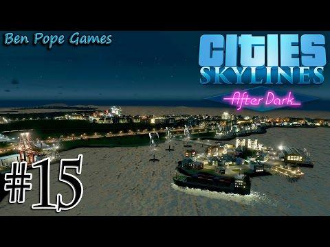 Cities: Skylines - (After Dark) - #15 Sunken Train Station