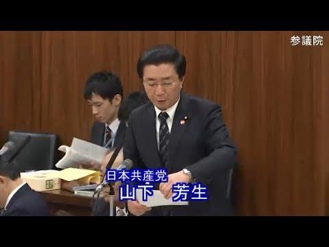 山下芳生 日本共産党 総務委員会 参議院 2019 03 28