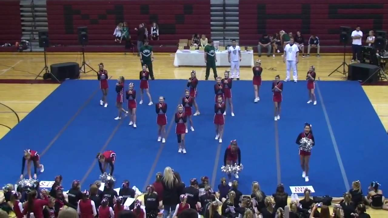 American Fork 8th Fylers Cheer Competition 2009 2010