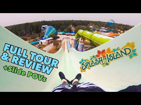Splash Island Full Tour & Review - Wild Adventures Waterpark