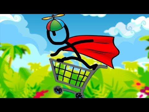 DO NOT TRY THIS AT HOME | Shopping Cart Hero 3