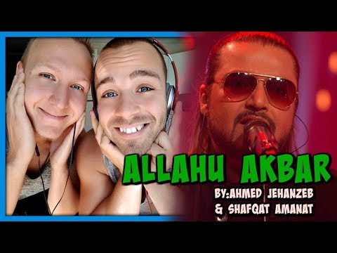 Ahmed Jehanzeb & Shafqat Amanat, Allahu Akbar, Coke Studio Season 10, Episode 1 | Reaction by RnJ