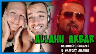 Ahmed Jehanzeb & Shafqat Amanat, Allahu Akbar, Coke Studio Season 10, Episode 1 | Reaction by RnJ